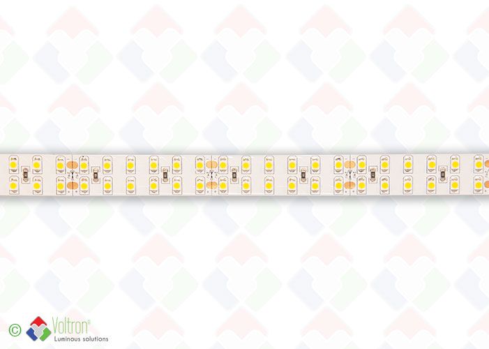 Led strip 240 led per meter SMD3528 - ULTRA SERIE/US-3528-240-WW-20-24V by Voltron Lighting Group